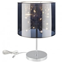 Mod Arena Table Lamp EEI-1219-SLV