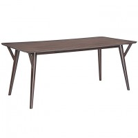 Mod Brace Dining Table EEI-1611-WAL