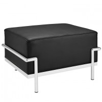 Mod Charles Grande Leather Ottoman $379 EEI-251-BLK_1_