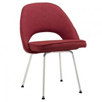Mod Cordelia Dining Fabric Side Chair $229 EEI-622-RED_1_