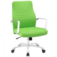 Mod Depict Mid Back Aluminum Office Chair $179 EEI-1531-BGR