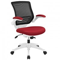 Mod Edge White Base Office Chair $229 EEI-596-RED_1_