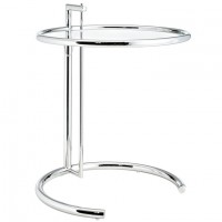 Mod Eileen Gray Side Table silver $175 EEI-125-SLV_1_