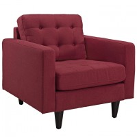 Mod Empress Upholstered Armchair $499 red EEI-1013-RED_1_
