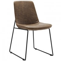 Mod Invite Dining Side Chair $179  EEI-1805-BRN