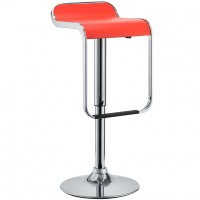 Mod Lem Vinyl Bar Stool $149 EEI-169-RED_1_