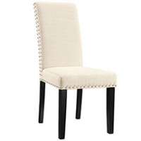 Mod Parcel Dining Fabric Side Chair $149 EEI-1384-BEI