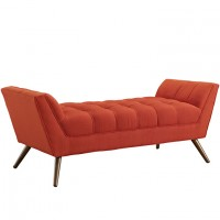 Mod Response Medium Fabric Bench $499 EEI-1789-ATO