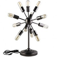 Mod Spectrum Metal Table Lamp EEI-1564