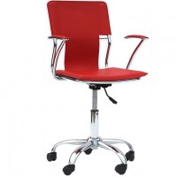 Mod Studio Office Chair $199 EEI-198-RED_1_
