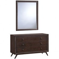 Mod Tracy Dresser and Mirror 5310-CAP-SET