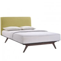 Mod Tracy Queen Bed $799 5238-CAP-GRN