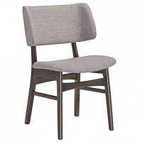 Mod Vestige Dining Side Chair $179 EEI-1610-WAL-GRY