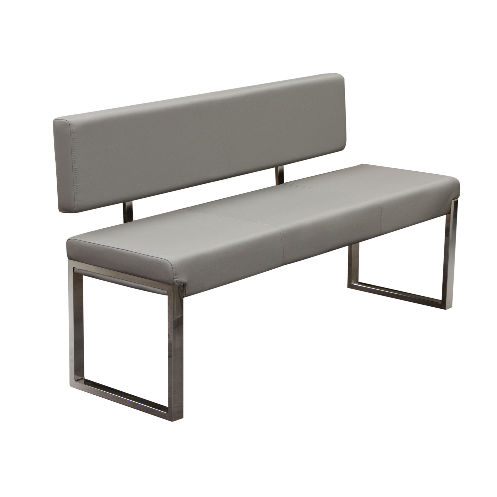 ds bench with back knox grey Рpop n d̩cor - ds bench with back knox grey