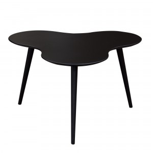 DS Coffee Table Beacon $150 in matte black or orange and black legs