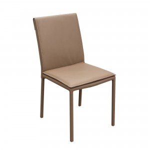 DS Dining Chair CS89 $110 each in mocca pu steel legs (2 in box)
