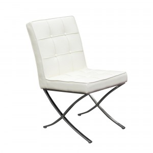 DS Dining Chair Cordoba $250 in white or black