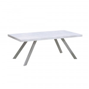DS Dining Table Carrera $400 in 3d marble finish and metal legs