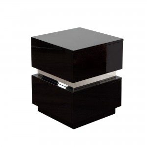 DS End Table Elle $200 in gloss black or gloss white or ash finish with drawers