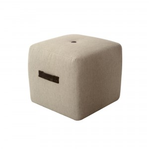 DS Ottoman cube Ritz $60 in desert sand or grey