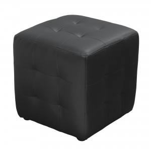 DS Ottoman cube Zen $125 in black or mocca or red or white