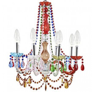 MY Chandelier 22317 $258 in multicolored
