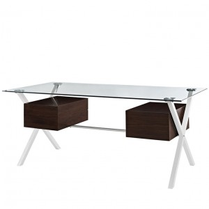 MY Office Desk 221182 $639 in walnut
