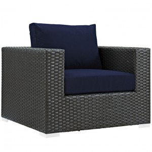 MY Outdoor Patio Armchair 0221850 $488 in canvas navy