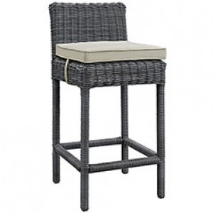 MY Outdoor Patio Bar Stool 221960 $218 in canvas beige