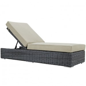 MY Outdoor Patio Chaise Lounge 221876 $868 in canvas beige