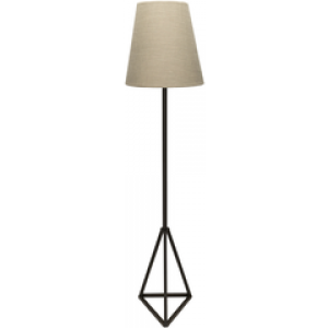 SY Floor Lamp bem22100 $258 in beige shade and painted base finish