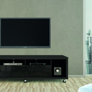 Cabrini 1.8 TV Stand Black Gloss