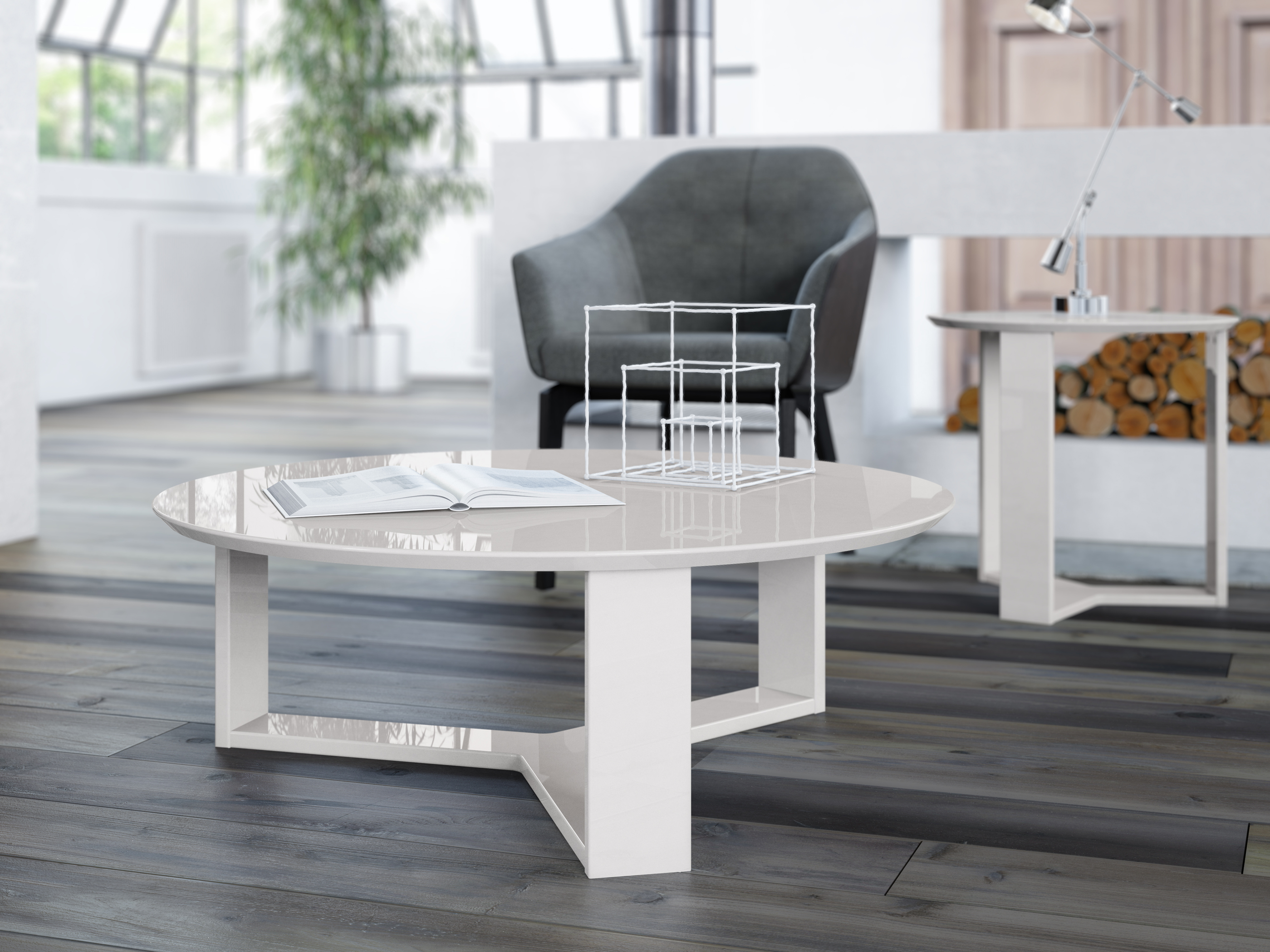 Fantastic Mc Coffee Table Madison Off White Pop N Decor Evergreenethics Interior Chair Design Evergreenethicsorg