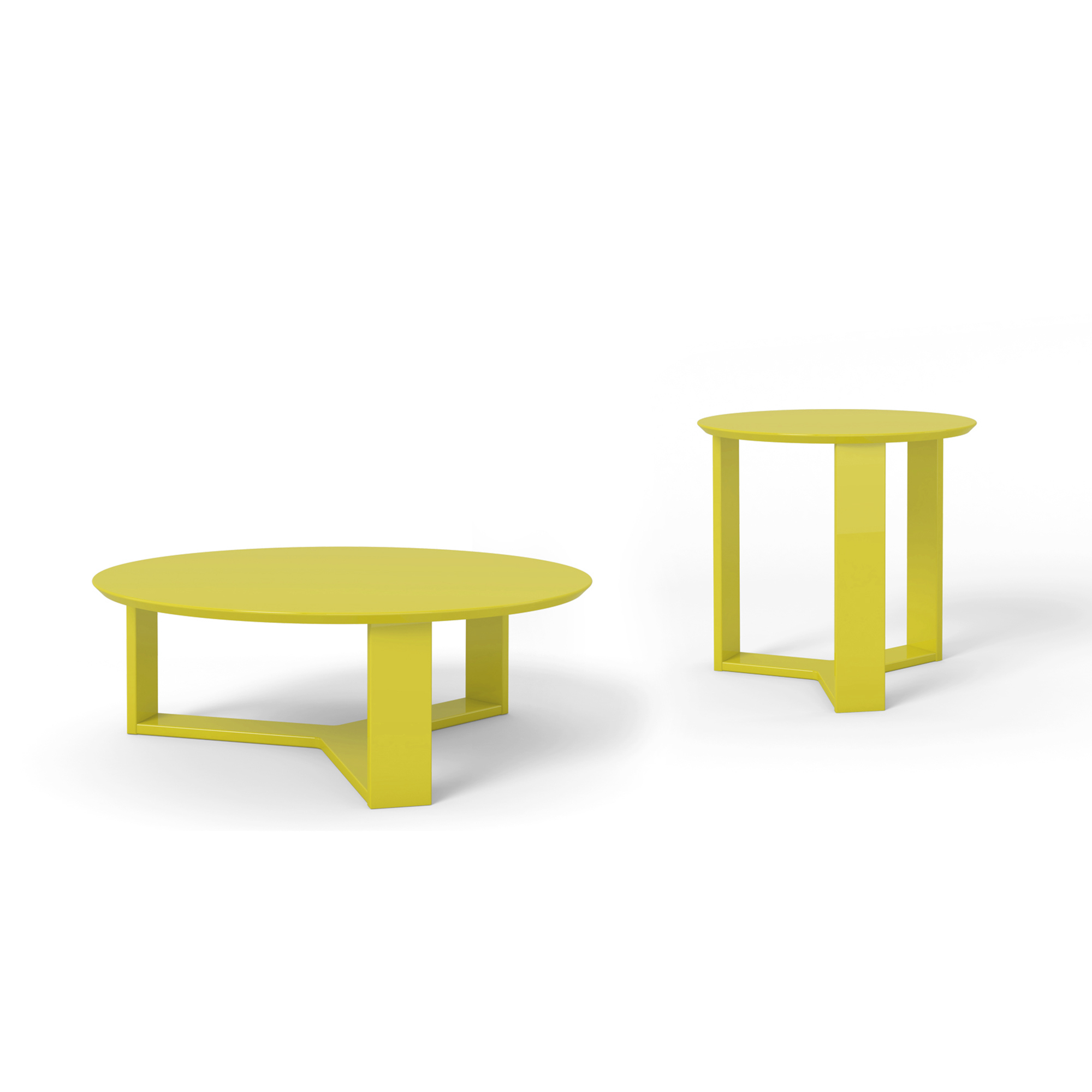 MC Coffee Table Madison Yellow Gloss – POP n Décor